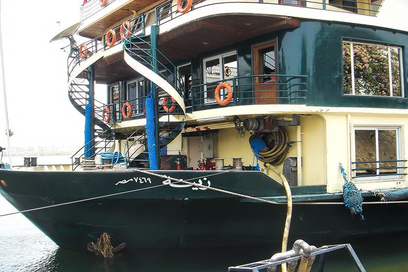 MS Zeina Nile Cruise - Egypt Luxor Aswan Sightseeings ...