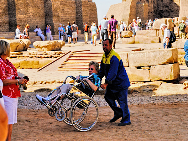 Egypt Wheelchair Accessible Tour Package